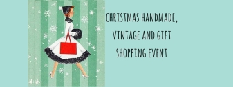 christmas handmade, vintage and gift shopping event