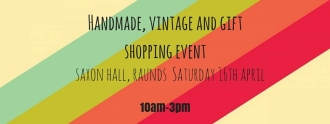 Handmade, vintage and gift shopping event